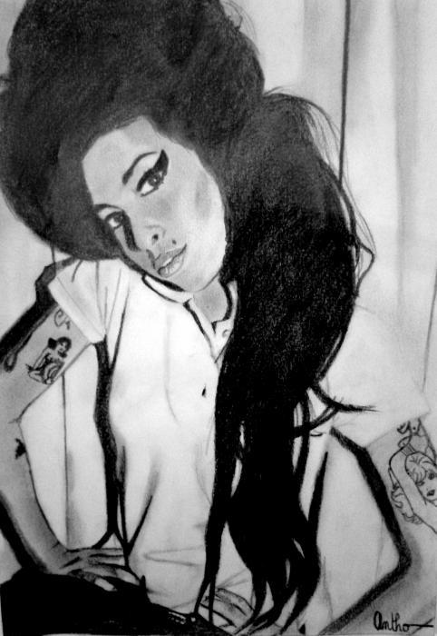 Amy Winehouse por Antho